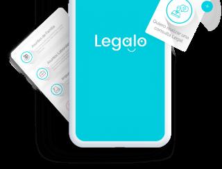 Utiliza legalo desde la App Legalo desde tu celular