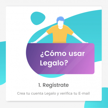 Crea tu cuenta legalo y verifica tu correo